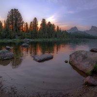 сумерки на озере Светлом :: Дамир Белоколенко