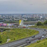 Заезд на Метромост :: Сергей Цветков