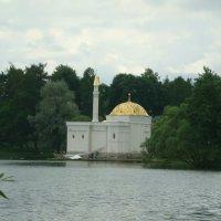 Турецкая баня на большом пруду в Екатерининском парке :: марина ковшова