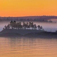 Летний туман на Ладоге :: Фёдор. Лашков
