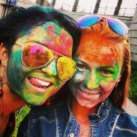 На фестивале красок :: Натали Пам