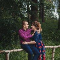 Николай и Настя . Павловский парк . :: Андрей Якимюк