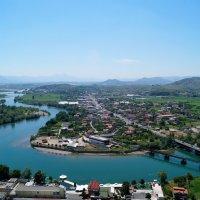 Албания. Вид со стен крепости Розафа :: Gal` ka