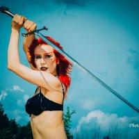 Мой меч - голова с плеч! :: Олег Шабашев
