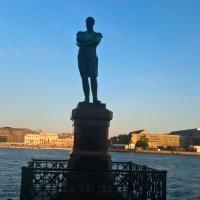 Памятник Крузенштерну в Петербурге :: Митя Дмитрий Митя