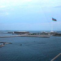 Кристалл Холл и площадь  Государственного  флага г.Баку :: Алла ZALLA