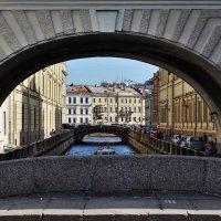Вид на Зимнюю канавку с Эрмитажного моста. :: Игорь Свет