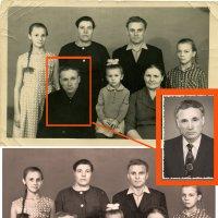 Семейный портрет. ретушь :: Оксана Попова