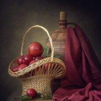 Натюрморт с розовыми слвами :: Ирина Приходько