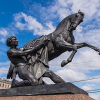 Укрощение коня. Аничков мост :: Ruslan