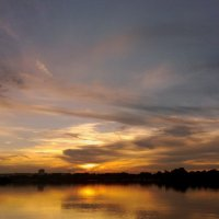 закат над заливом :: Александр Прокудин