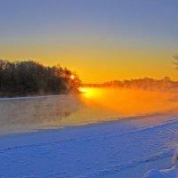 Утро над Десной :: Дубовцев Евгений