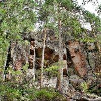 Национальный парк «Реповеси» (Repovesi). Крутые скалы :: Елена Павлова (Смолова)