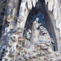 Барселона. Собор Святого Семейства. Рельефные панно на фасаде -1 :: татьяна