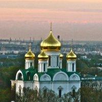 купола Екатерининского собора в Царском Селе :: Елена