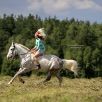 Полина и Алмаз :: Кристина Щукина