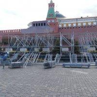 Мавзолей Ленина перед 9 Мая :: Андрей Солан