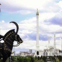 "Соборная мечеть ""Хазрет-Султан"" в Астане :: TATYANA PODYMA"