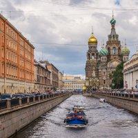 Канал Грибоедова и Собор Воскресения Христова на крови :: Ruslan