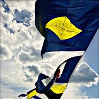 Арт-флаг. Небо наше такое... :: Кай-8 (Ярослав) Забелин