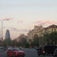 Барселона поздно вечером :: татьяна