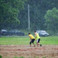 Игра во время дождя :: Aнна Зарубина
