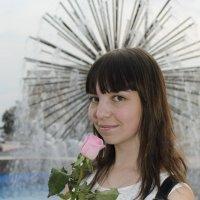 девушка с розой :: Ольга Русакова