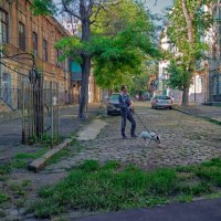 Утро старых улочек Одессы. :: Вахтанг Хантадзе