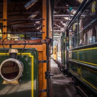 Tram depot :: Alena Kramarenko