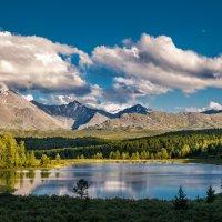 озеро Киделю - жемчужина Улаганского нагорья :: Галина Шепелева