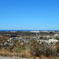 Португалия. Вид на городок Албуфейра и океан. :: Лариса (Phinikia) Двойникова