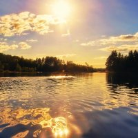 Лето на Ладоге :: Ирэна Мазакина