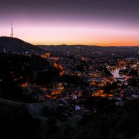 Тбилиси на закате..... :: Максим Гуревич