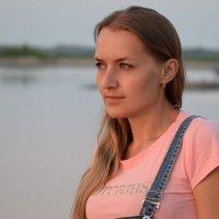 На закате :: Леонид Чащин