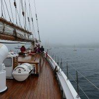 На борту рыбацкой шхуны Bluenose II (Новая Шотландия, Канада) :: Юрий Поляков