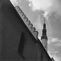 Таллинн 1985. Церковь Святого духа на ул. Пюхавайму :: Odissey
