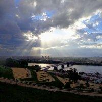 небесные лучи :: Наталья Сазонова