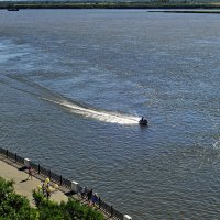 Вид с Утеса на реку Амур :: Николай Сапегин
