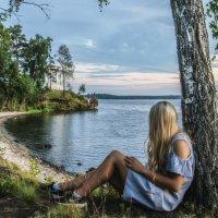 Sunday evening at the lake :: Dmitry Ozersky