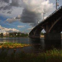 Старый мост Глазковский через Ангару... :: Александр Попов