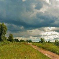 Дождь в дорогу,к большой удаче... :: Sergey Gordoff
