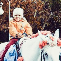 добрая девочка и лошадь :: Таня Новикова