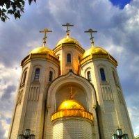 Храм всех святых на Мамаевом Кургане, Волгоград. Вид #1. :: Алексей Батькович