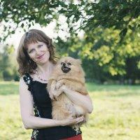 Дама с собачкой :: Kristi Caty