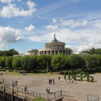 В Твери обрушилась ротонда речного вокзала :: Александр Алексеев