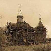 Храм в посёлке Эльбан! :: Ирина Антоновна