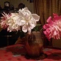 Пионы в вазе :: Виктория Нефедова