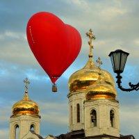 Я лечу на воздушном шаре, а внизу проплывает жизнь ... :: Евгений Юрков