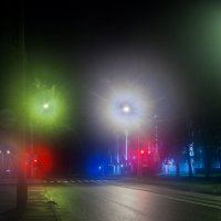 Свет в тумане. :: Оксана Ingoda
