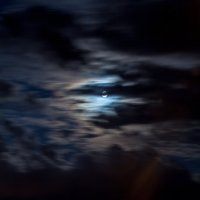 Несостоявшееся затмение Луны... :: Оксана Ingoda